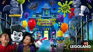 New Haunted House Monster Party ride at LEGOLAND® Windsor Resort