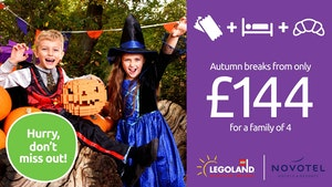 Autumn breaks at LEGOLAND Windsor Resort