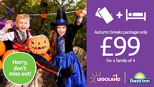 Book now for LEGOLAND® Windsor Resort From £99 per family!