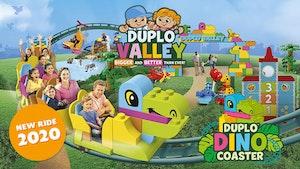 DUPLO® Dino Coaster at LEGOLAND Windsor Resort
