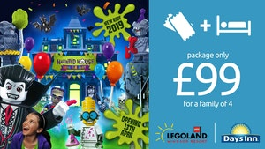 Book Now for LEGOLAND® Windsor Resort 2019 From £99 per family!