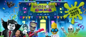 The Haunted House Monster Party at LEGOLAND Windsor Resort